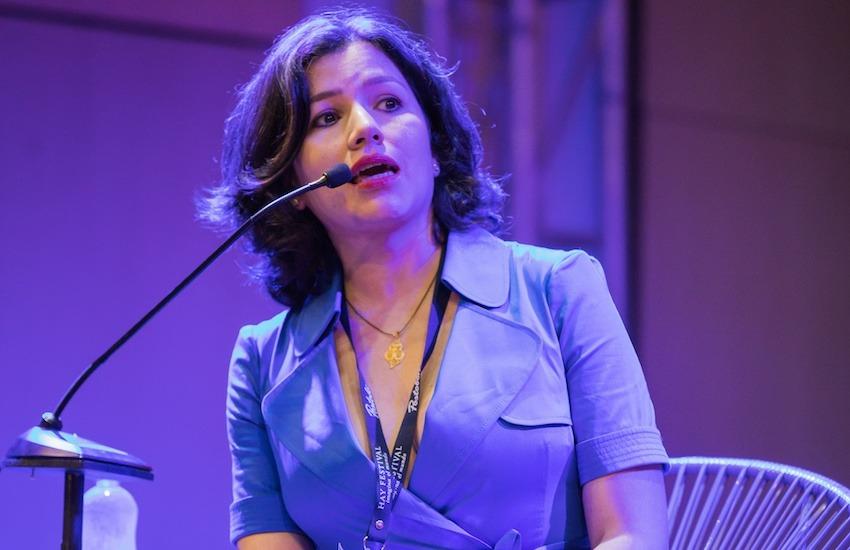 La ecuatoriana Sabrina Duque, ganadora de la Beca Michael Jacobs de crónica viajera 2018.