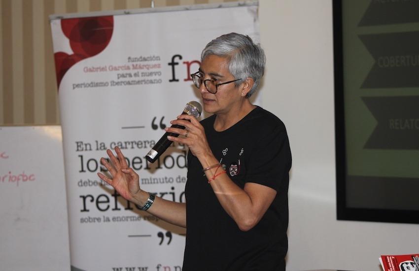 Olga Lucía Lozano, editora general web de Grupo Semana.