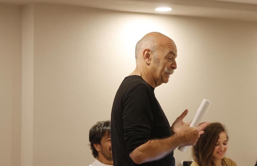 Martín Caparrós, miembro del Consejo Rector de la Fundación Gabo. Foto: Feria Internacional del Libro de Oaxaca.