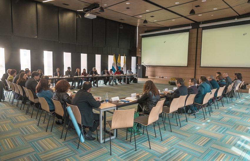 Recuerdo del XVI Encuentro de directores y editores de medios de Colombia, realizado en 2018, en Bogotá.