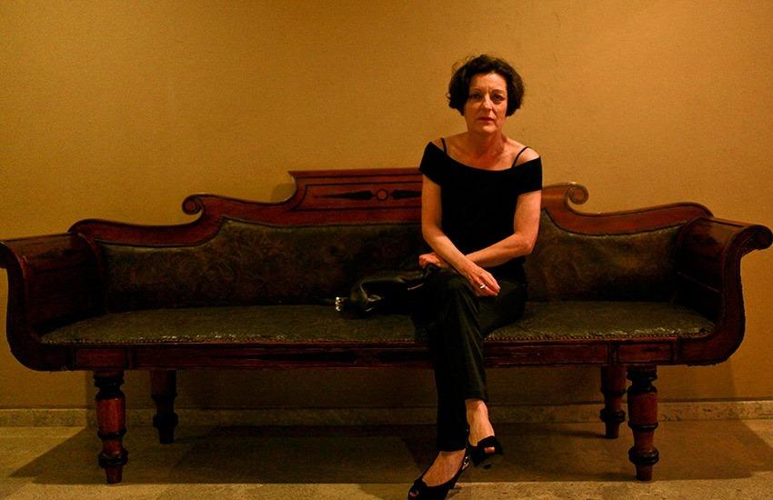 Herta Müller (Rumania)en el Hotel Santa Clara. Joaquín Sarmiento/Archivo FNPI