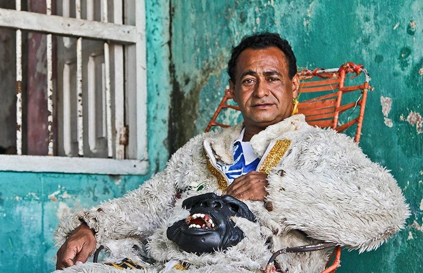 Alberto de la Rosa en su casa. David Lara/Archivo FNPI