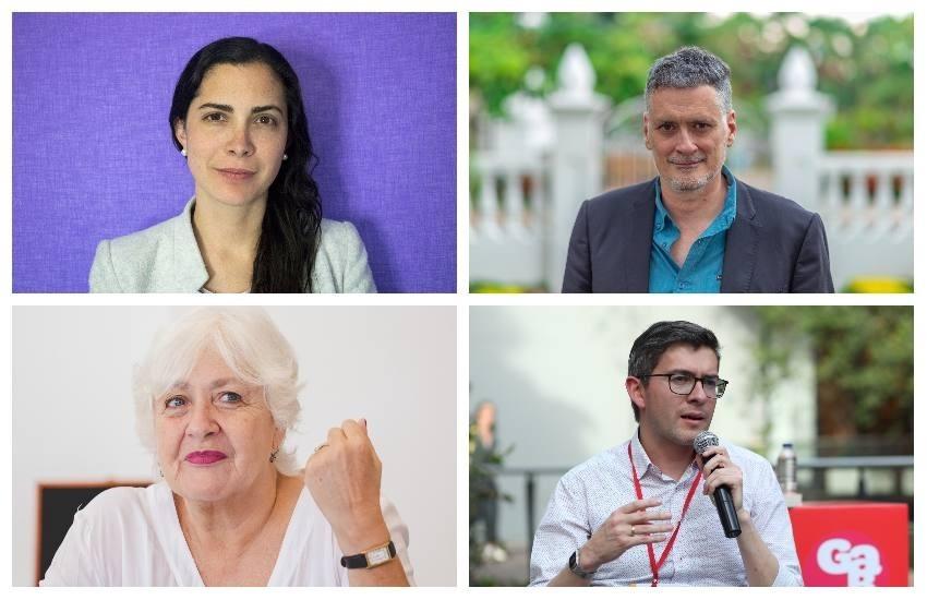 Miquel Molina, Isabela Ponce y Mónica González conversarán con Hernán Restrepo.