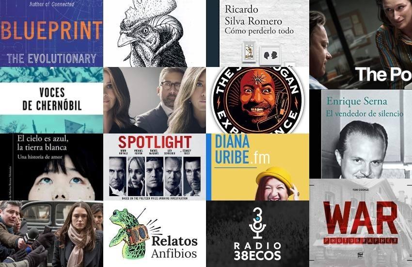 Películas, documentales, series, libros y pódcast recomendados por el equipo de la Fundación Gabo.