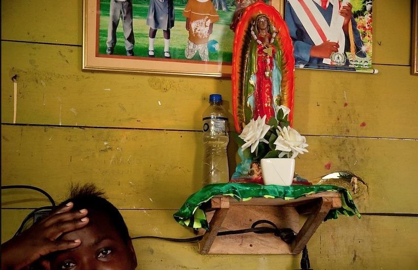 Mujer desplazada por el conflicto armado colombiano. Foto: Natalia Gómez Carvajal.