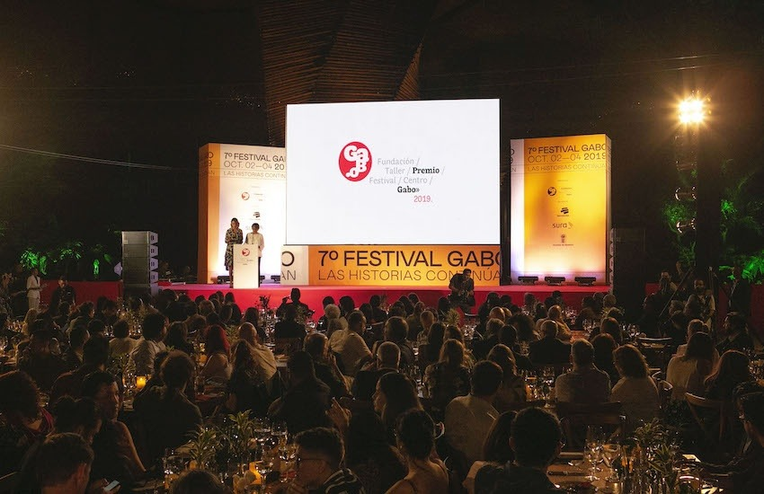 Ceremonia del Premio Gabo 2019.