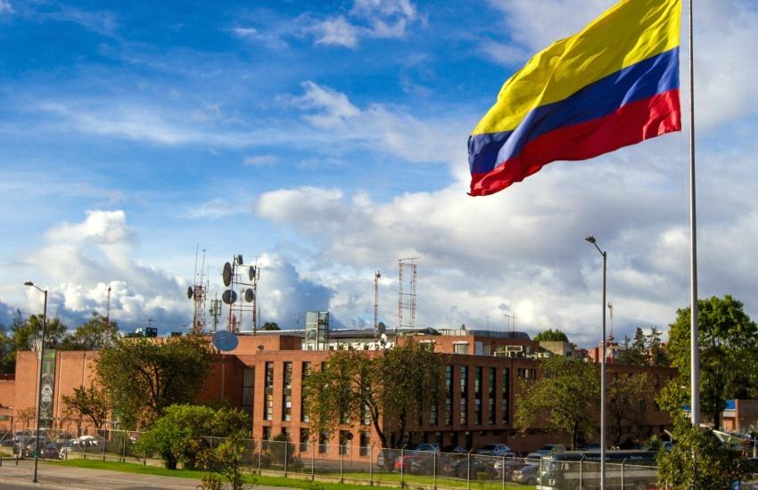Panorámica de la sede de RTVC, el sistema de medios públicos de Colombia.