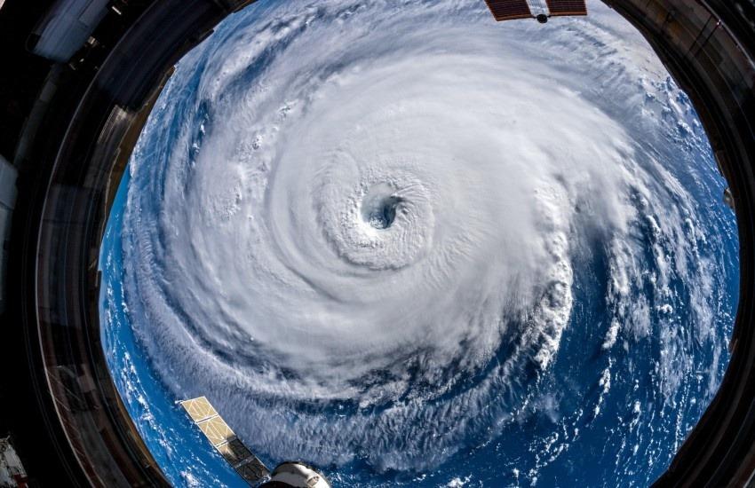 ¿Realmente muestra esta fotografía tomada desde la Estación Espacial Internacional al huracán Iota que azotó a Centroamérica?