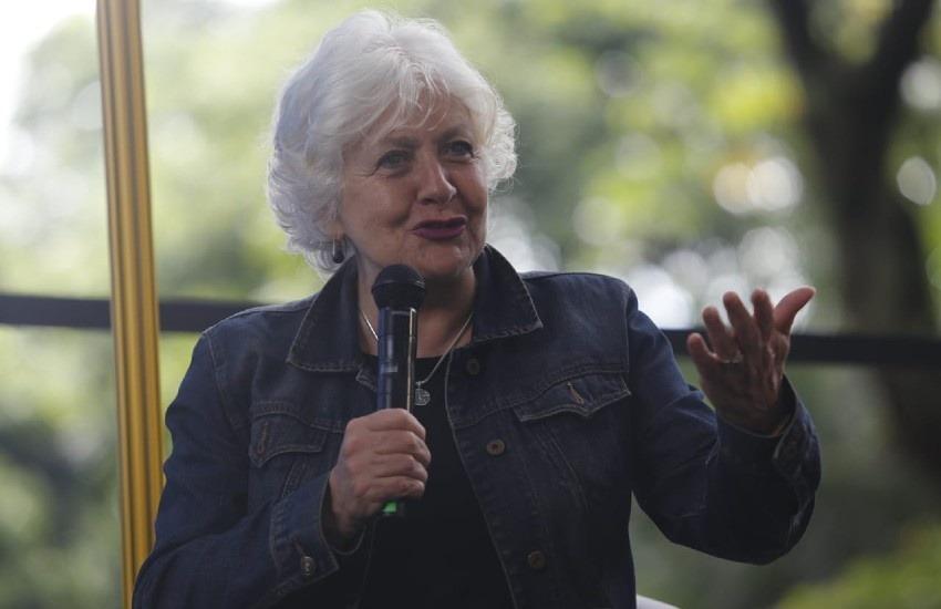 Mónica González. Fotografía: Fundación Gabo.