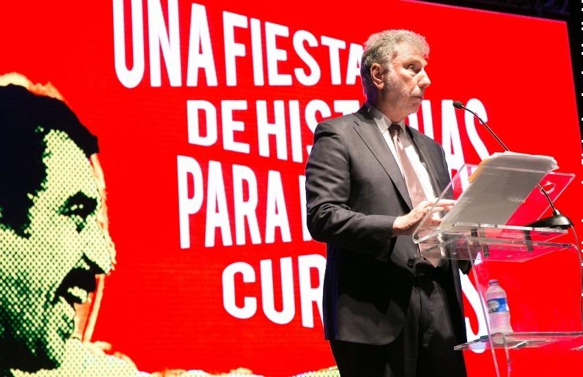 Martin Baron en el Festival Gabo en 2016. Fotografía: Julián Roldán.