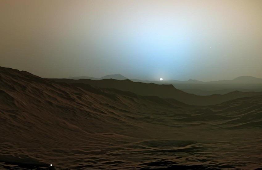 ¿En realidad así se ve un atardecer desde la superficie de Marte?... ¡Responde nuestro quiz de noticias!