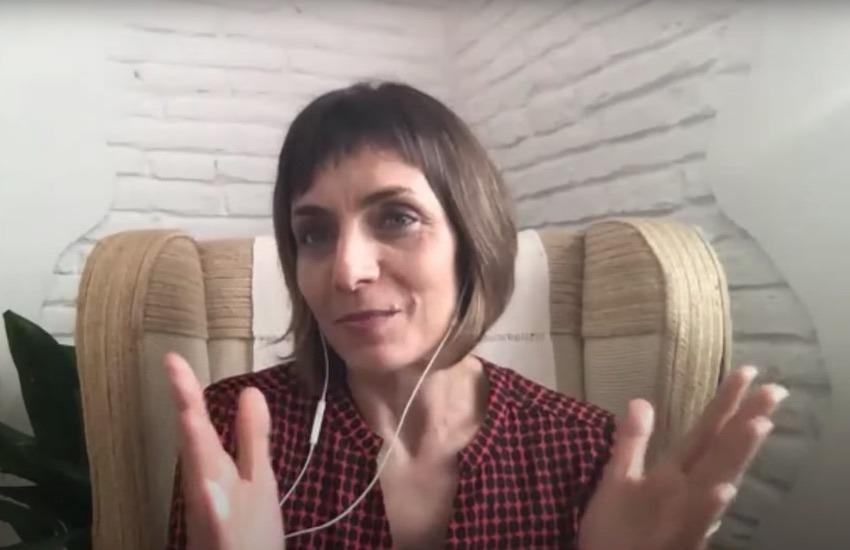 Eva Domínguez, periodista española experta en innovación y nuevas narrativas.