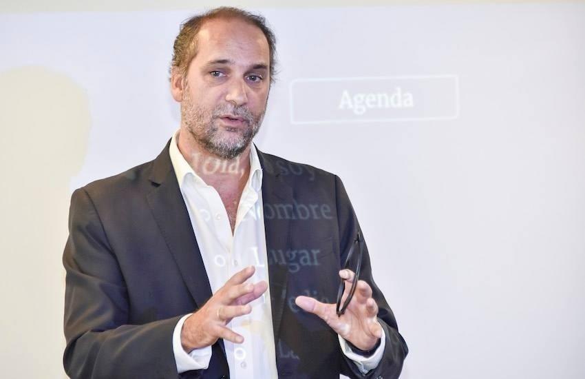 Chani Guyot, director y fundador del medio argentino Red/Acción.
