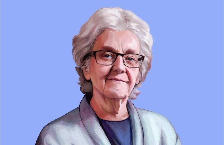 Soledad Gallego-Díaz, periodista de El País (España). Ilustración: Silvana Bossa.