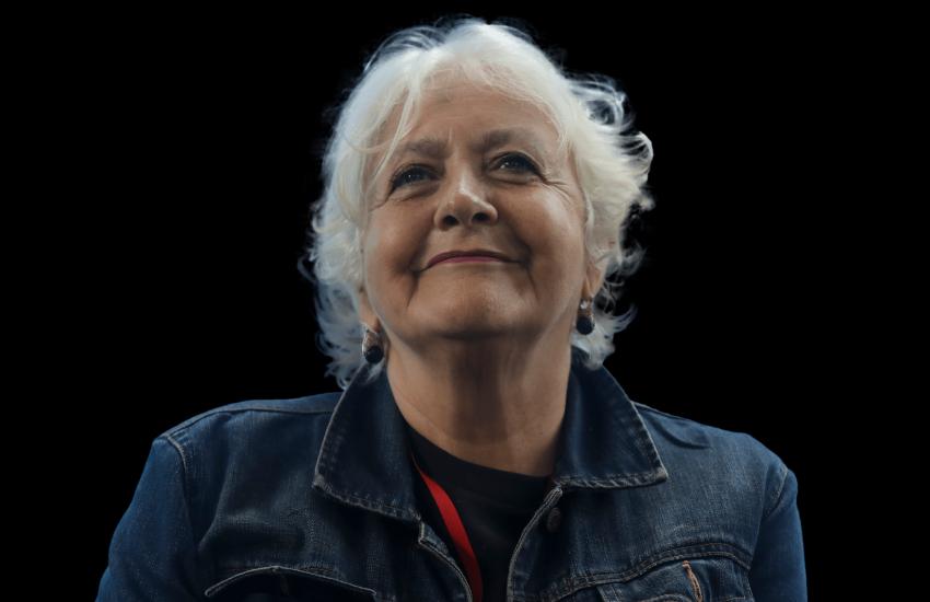 Mónica González, periodista chilena y maestra de la Fundación Gabo.