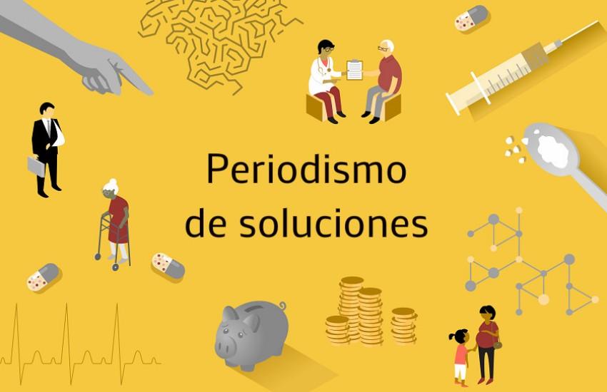 Ilustración tomada del curso de periodismo de soluciones aplicado a temas de salud en solutionsjournalism.org