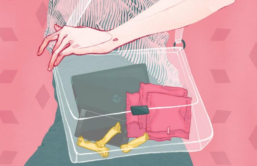 Ilustración del especial '28 días: 28 historias para acabar con los tabúes sobre la regla', Adara Sánchez. El País.