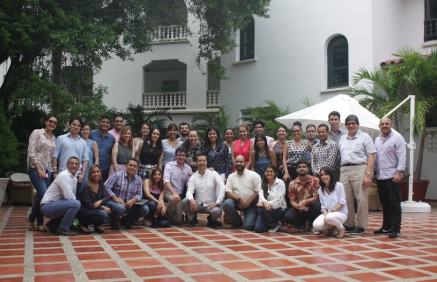 Participantes al taller que se realizó en Cartagena, Colombia.