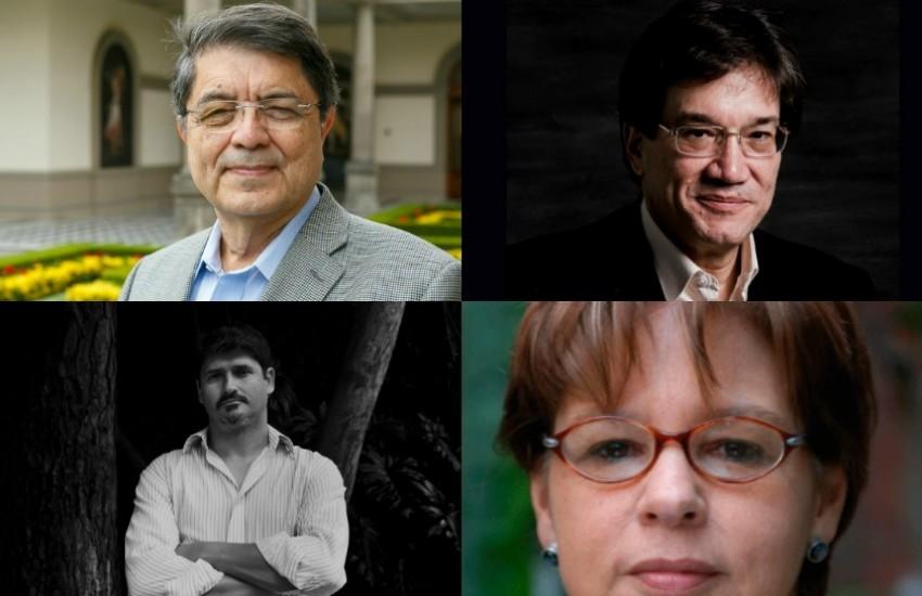 Representantes de Colombia en la XIII Feria del Libro de Panamá