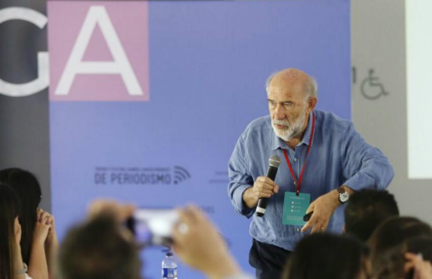 Adelino Gomes en el Festival Gabo   Fotografía: David Estrada Larrañeta
