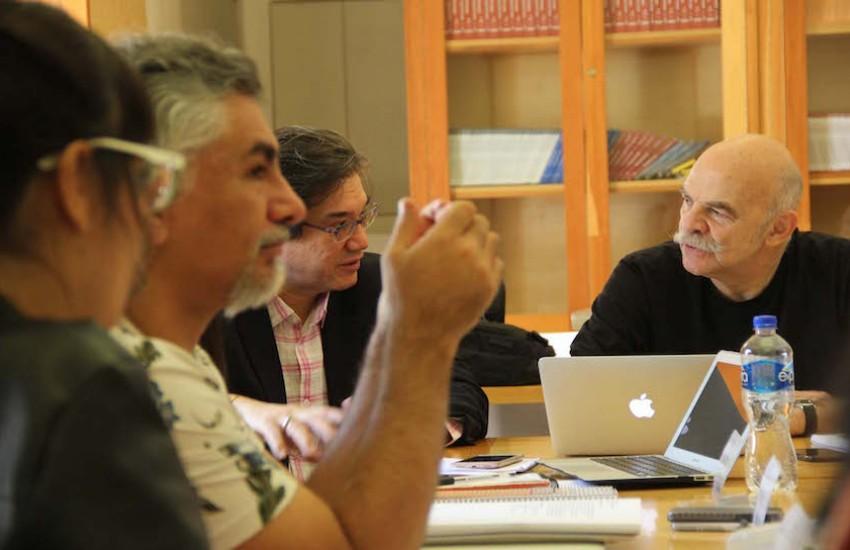 Tercer día del Taller de libros periodísticos con Martín Caparrós. Foto: Jorge Luis Plata.