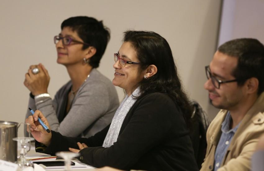 Periodistas y editores económicos se reunieron en Bogotá el 27 y 28 de noviembre de 2017. Foto: Andrés Torres /FNPI.