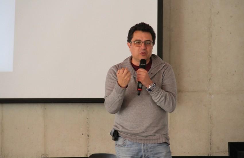 Daniel Lizárraga, periodista mexicano. Foto: Mateo G. Rivas / FNPI.