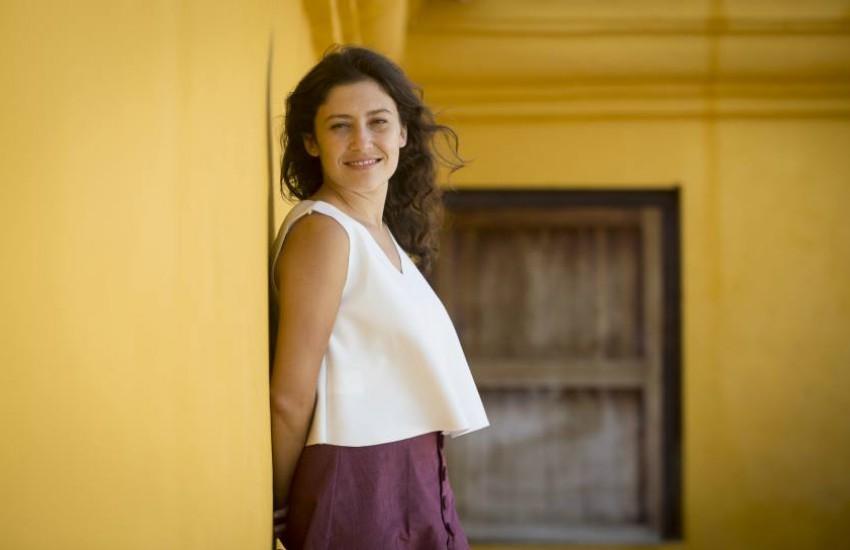 Daniela Abad, directora de The Smiling Lombana. Foto: Joaquín Sarmiento.