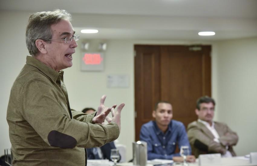 Luis Miguel González, director editorial de El Economista. Foto: Guillermo Legaria / FNPI.
