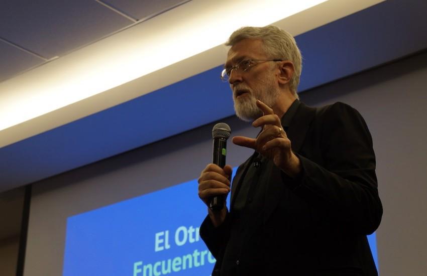 Jeff Jarvis fue uno de los invitados a la primera edición de 'El Otro'. Foto: Germán Olano / FNPI.