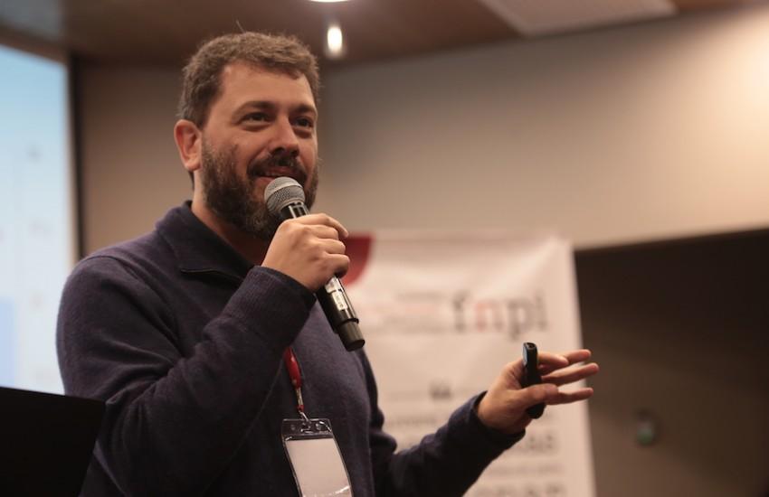 Pedro Doria, fundador de Canal Meio. Foto: Emmanuel Upegui / FNPI.
