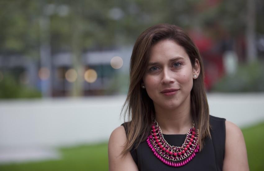 Alejandra Cruz, nueva directora del Taller del Nuevo Periodismo. Foto: Emmanuel Upegui / FNPI.