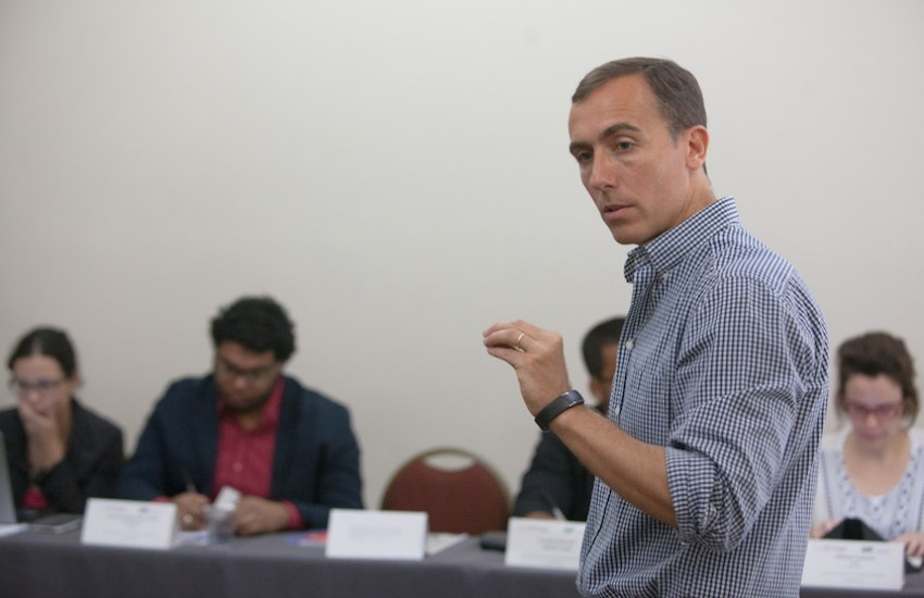 Hugo Alconada Mon, prosecretario de redacción de La Nación (Argentina). Foto: André Bueno.
