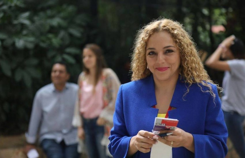 Mary Triny Zea, participante del Curso de Periodismo Investigativo en 2018. Foto: Archivo FNPI.
