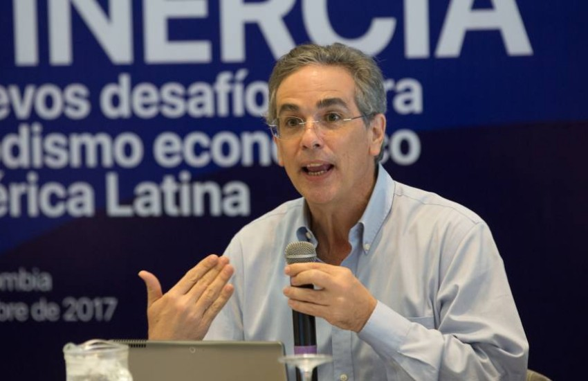 Luis Miguel González, director general de El Economista. Foto: Rafael Bossio / Fundación Gabo.