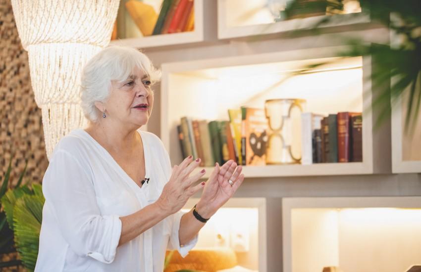 Mónica González. Foto: Archivo Fundación Gabo.