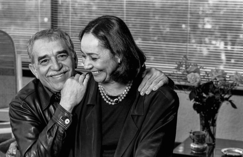 Gabo y Mercedes Barcha en 1990. Foto: Hernán Díaz.