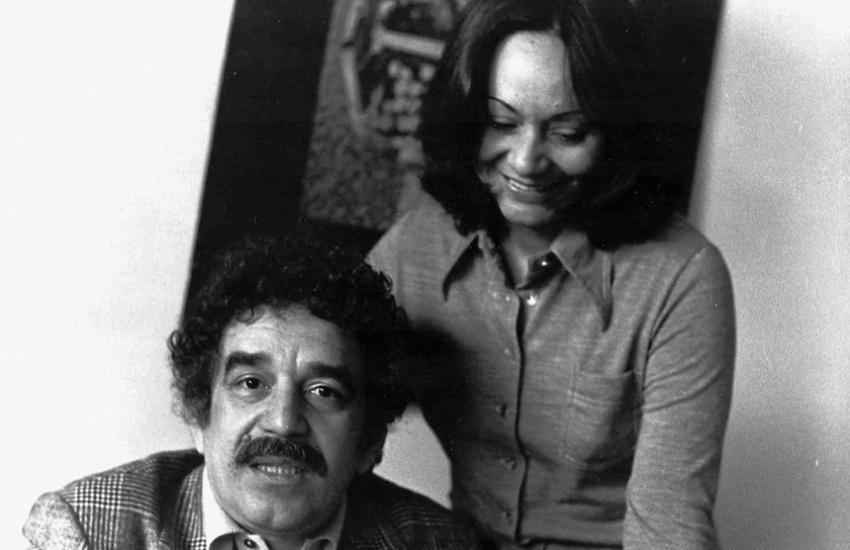 Gabriel García Márquez y Mercedes Barcha en 1975. Foto: Archivo familiar Mercedes Barcha.