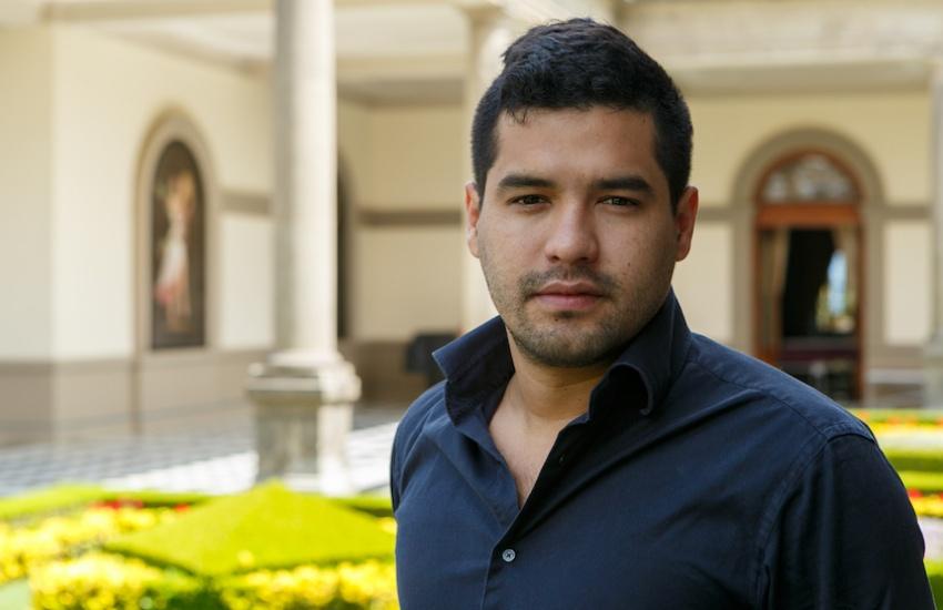 Óscar Martínez, periodista de El Faro. Foto: Archivo Fundación Gabo.