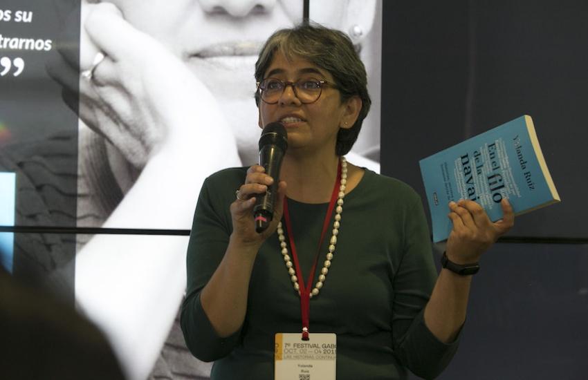 Yolanda Ruiz Ceballos, directora de noticias en RCN Radio. Foto: Archivo Fundación Gabo.