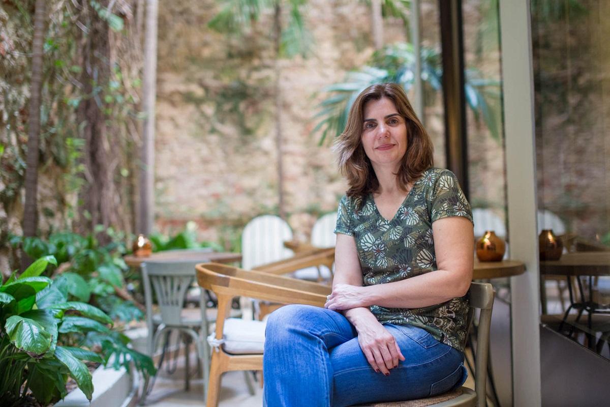 Cristiane Segatto, jurado de la quinta edición del Premio Roche, reportera especial de la Revista Época. Foto: Rafael Bossio Fotografía/FNPI